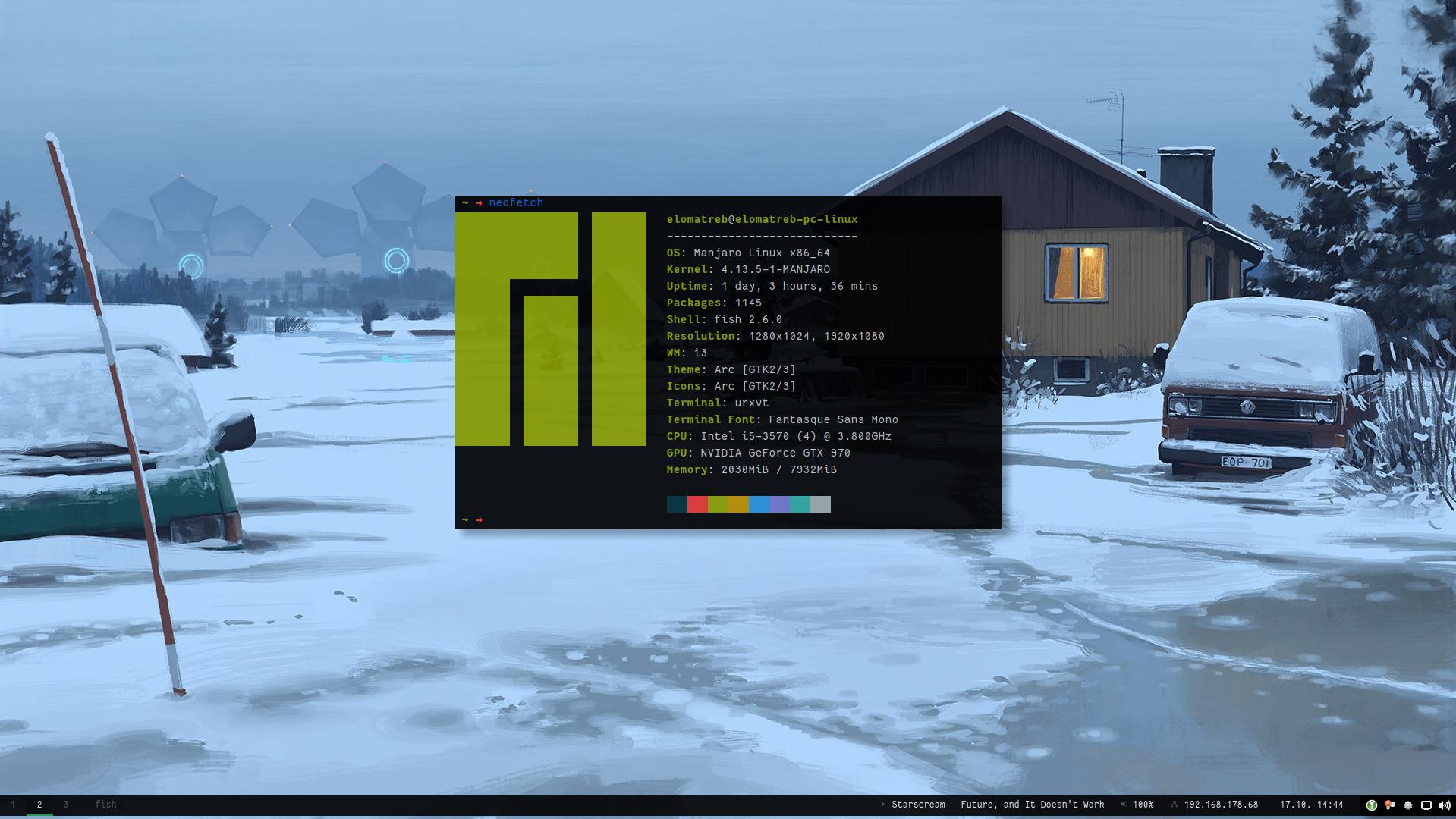 elomatreb/dotfiles: My Linux desktop dotfiles/configuration